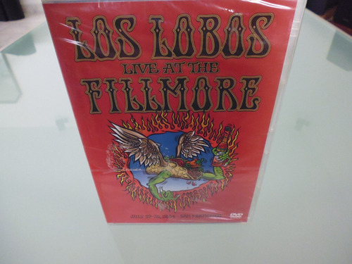 los lobos / live at the fillmore  / dvd / nuevo / sellado /