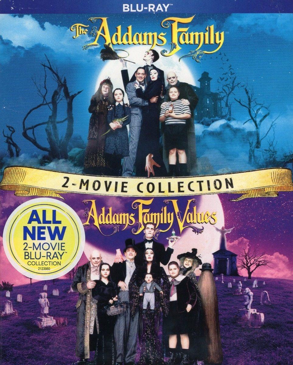 Los Locos Addams 1 Y 2 Pelicula Blu Ray 799 00 En Mercado Libre
