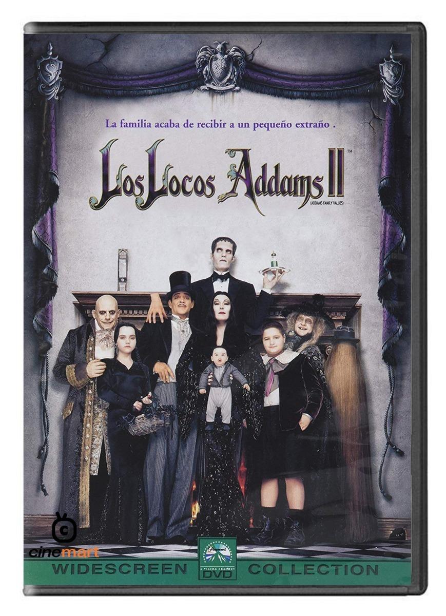 Los Locos Addams 2 Pelicula Dvd 249 00 En Mercado Libre