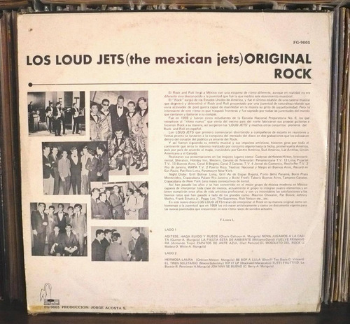 los loud jets lp the mexican jets original rock