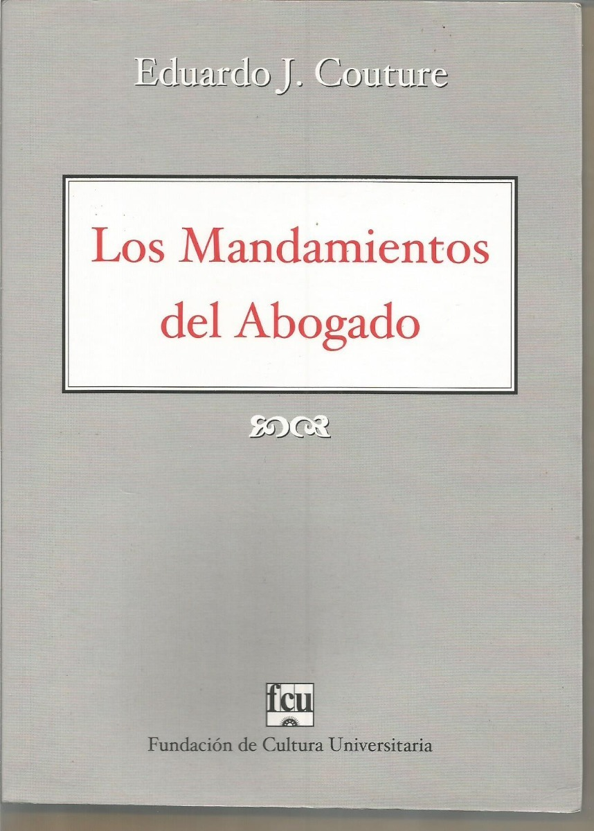 MANDAMIENTOS DEL ABOGADO COUTURE EPUB DOWNLOAD