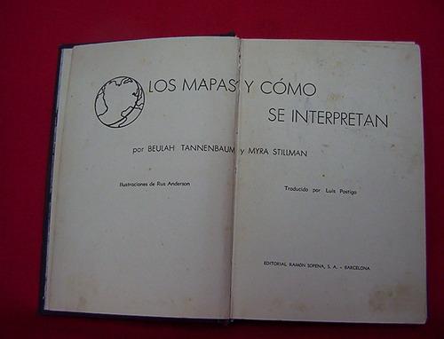 los mapas y como se interpretan b tannembaum y myra stillman