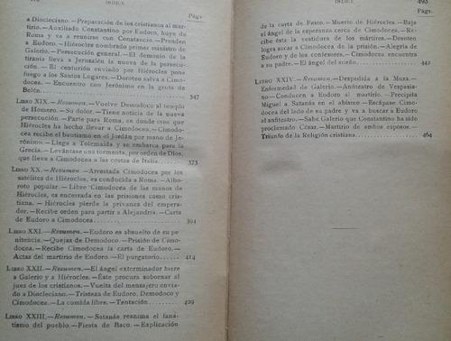 los mártires triunfo de la religión cristiana chateaubriand
