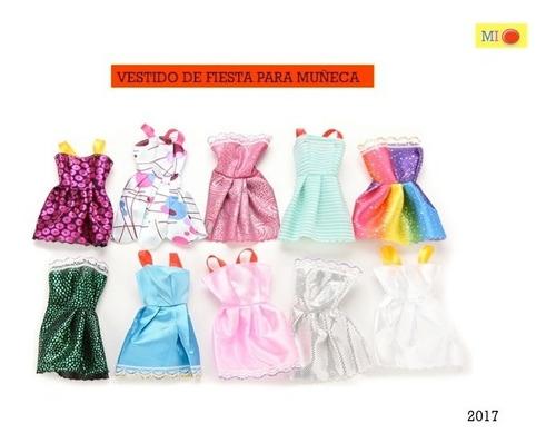 los mas lindos vestidos para tus muñecas docena