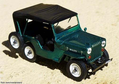 los mas queridos jeep willis escala 1:43