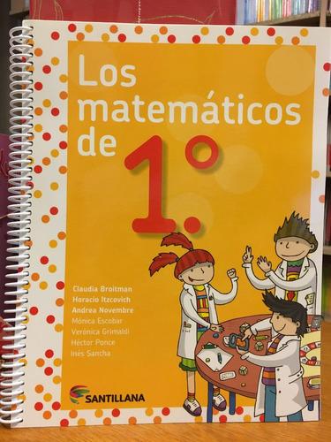 los matematicos de 1 - santillana