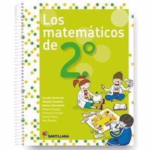 los matemáticos de 2 - santillana
