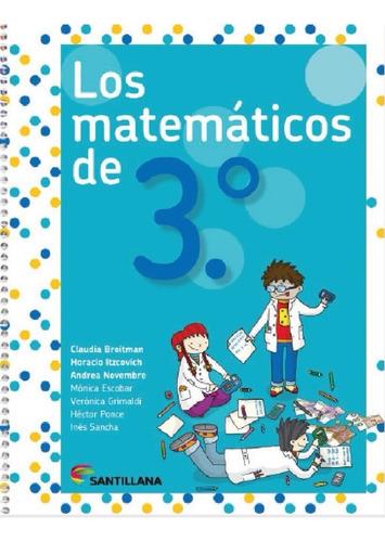 los matematicos de 3 - santillana