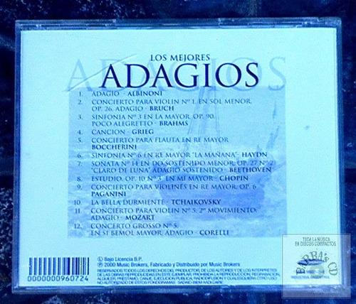 los mejores adagios ( nuevo ) albinoni, bruch, brahms, grieg