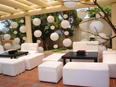 los mejores jardines, salones y terrazas para fiestas.