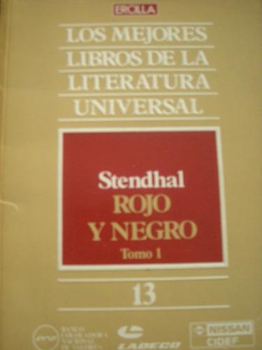 los mejores libros de la literatura universal -rojo negro