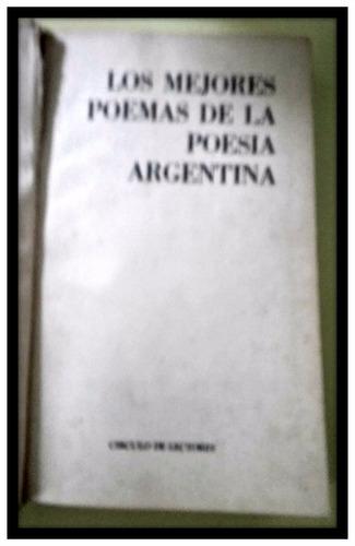 los mejores poemas de la poesía argentina
