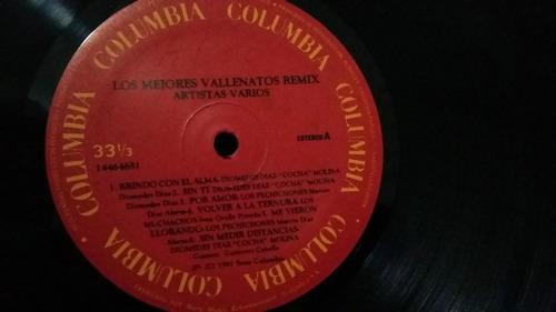 los mejores vallenatos remix lp mezcla vinilo vallenato