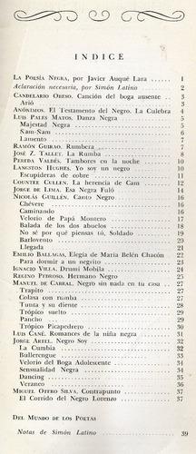 los mejores versos - poesia negra - nicolás guillén y otros