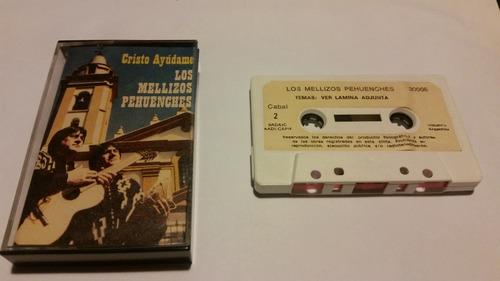 los mellizos pehuenches cristo ayudame cassette nacional