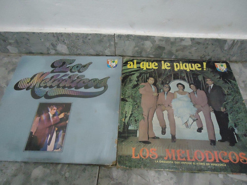 los melodicos lp coleccion vinil