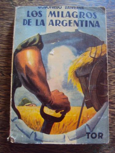 los milagros de la argentina godofredo daireaux
