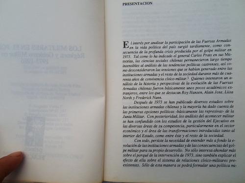los militares en el poder (régimen y gob. militar en chile)