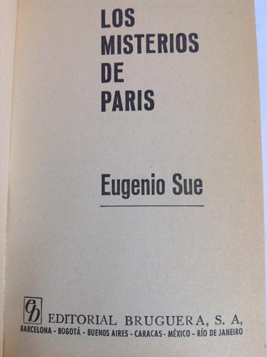 los misterios de parís - eugenio sue