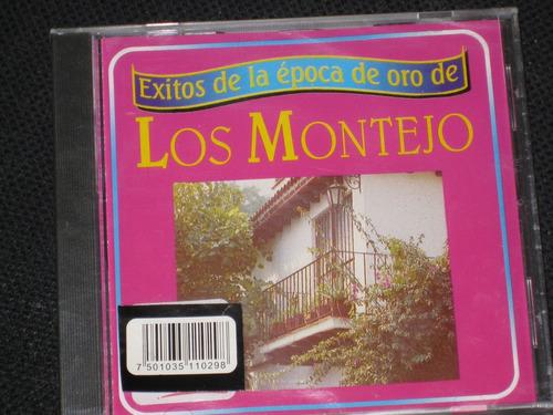 los montejo / éxitos de la época de oro de... c d 12 tracks