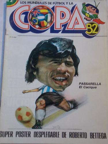 los mundiales y la copa 1982, fasciculo nº 5
