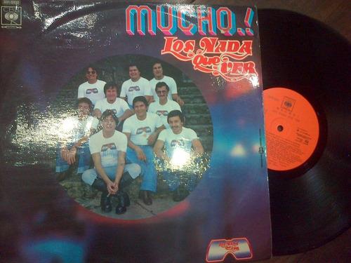los nada que ver lp vinilo cumbia(mucho) dialogomusical