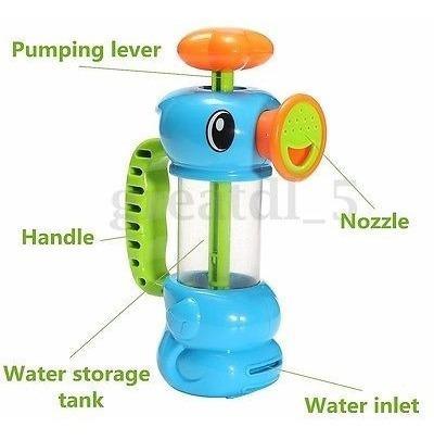 los niños del hipocampo forma bebé bomba bombeo spray baño d