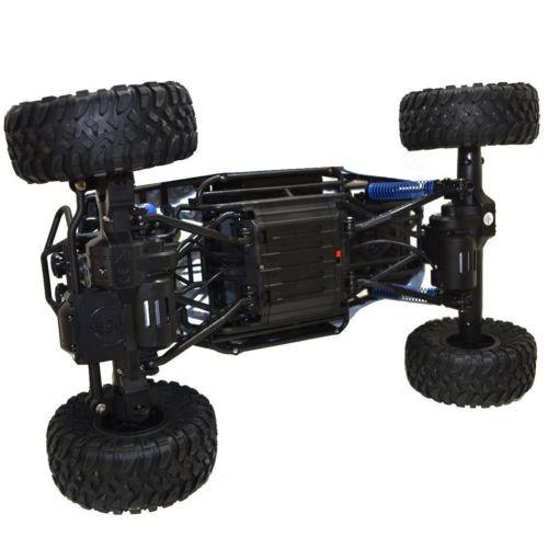 los niños escala 1/10 2.4ghz 4 ruedas rock crawler rc coche