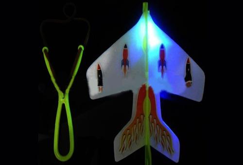 los niños kid al aire libre juguete de luz led glow spin ca