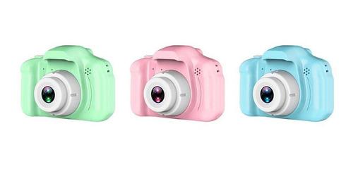 los niños x2 de alta definición cámara digital azul