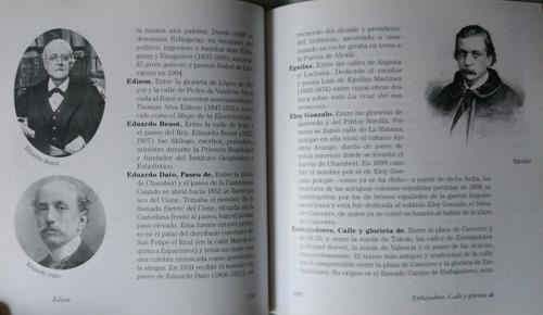 los nombres de las calles de madrid. isabel gea