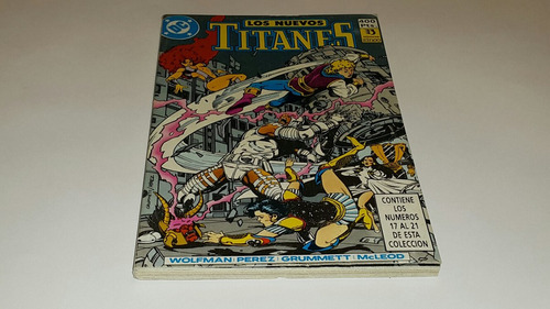 los nuevos titanes taco no. 4 ediciones zinco dc comics
