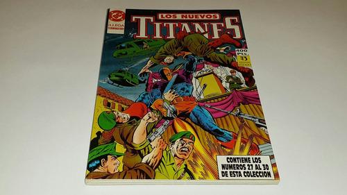 los nuevos titanes taco no. 6 ediciones zinco dc comics