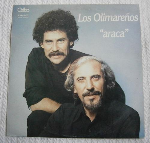 los olimareños -   araca   ( l p ed. uruguay)