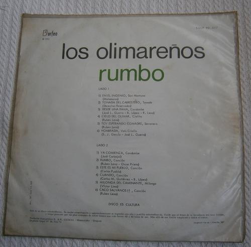 los olimareños - rumbo ( l p ed. uruguay)