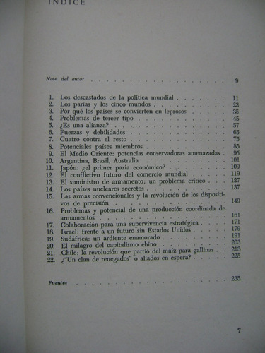 los paises parias / martin spring andrés bello / 1980