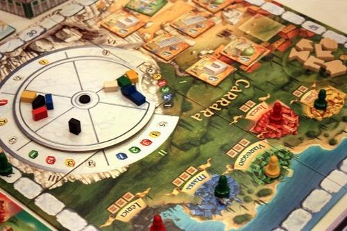los palacios de carrara juego de mesa recursos en español!