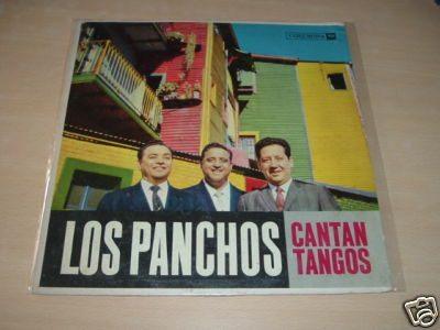 los panchos cantan tangos vinilo argentino