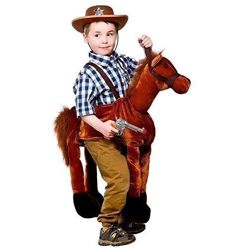 Los Paseos A Caballo Para Niños Vaquero Vestido De Fantasía