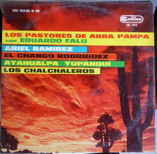 los pastores de abra pampa con falu disco vinilo lp