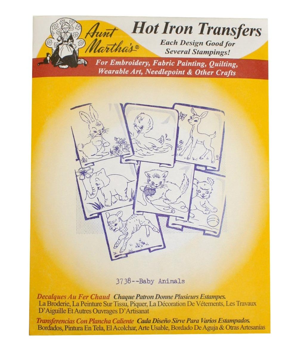 Los Patrones De Transferencia De Hierro De Tía Martha W5 - $ 889.00 ...