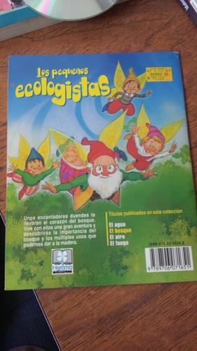 los pequeños ecológicos. el bosque.