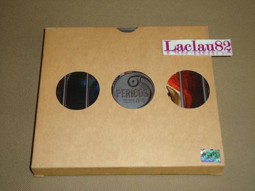 los pericos desde cero 2002 universla cd + funda pluma