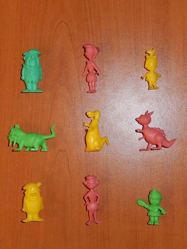 los picapiedras miniaturas colección completa 70s troncomovi
