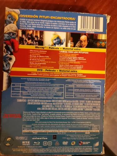 los pitufos blu ray dvd