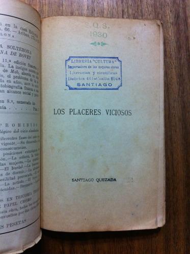 los placeres viciosos - william drauger- antiguo