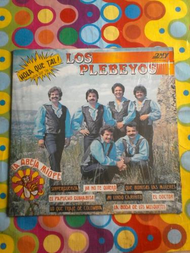 los plebeyos lp hola que tal 1985
