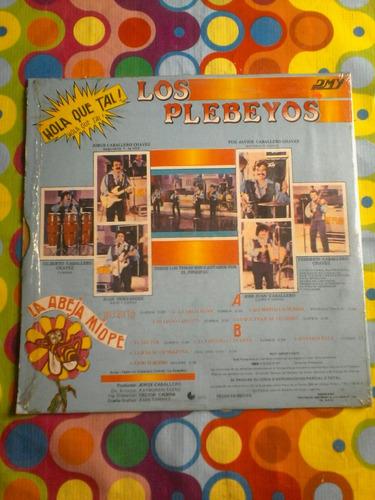 los plebeyos lp hola que tal 1985 r
