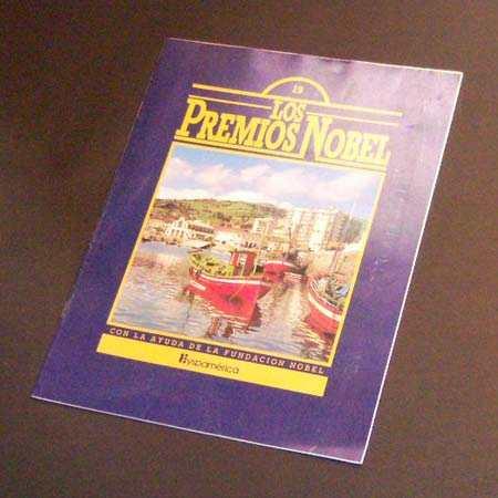 los premios nobel. fascículo nro 19. 1983