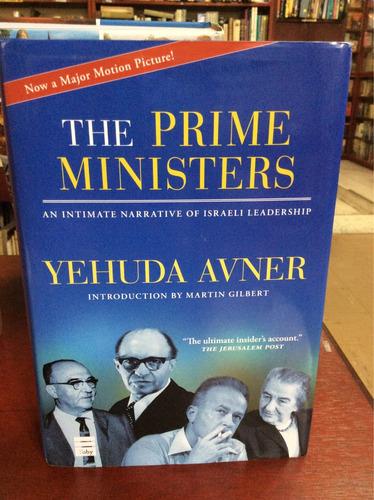 los primos ministros. yehuda avner